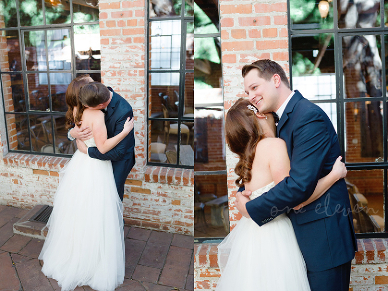 tips on wedding day first look | one eleven photography