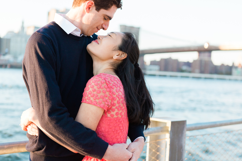 Brooklyn Bridge Promenade Engagement Session | One Eleven Photography