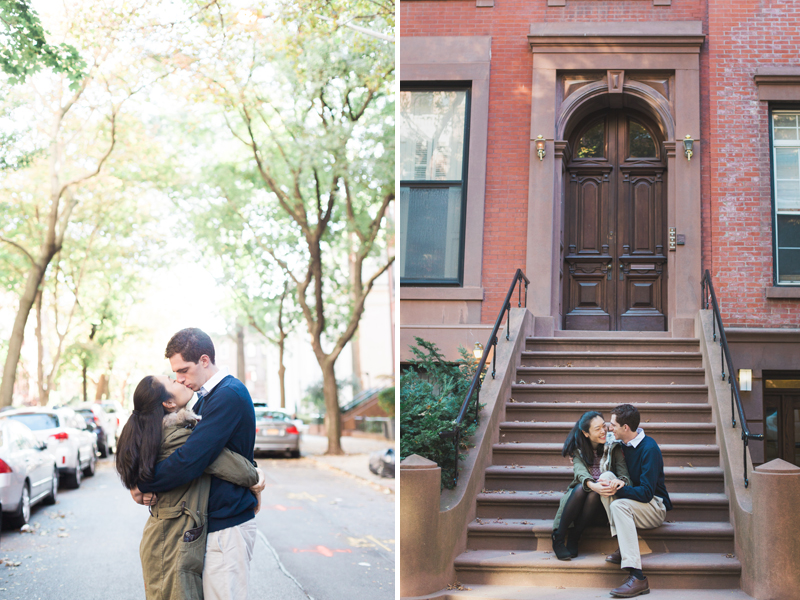 Brooklyn Heights Engagement Session | One Eleven Photography