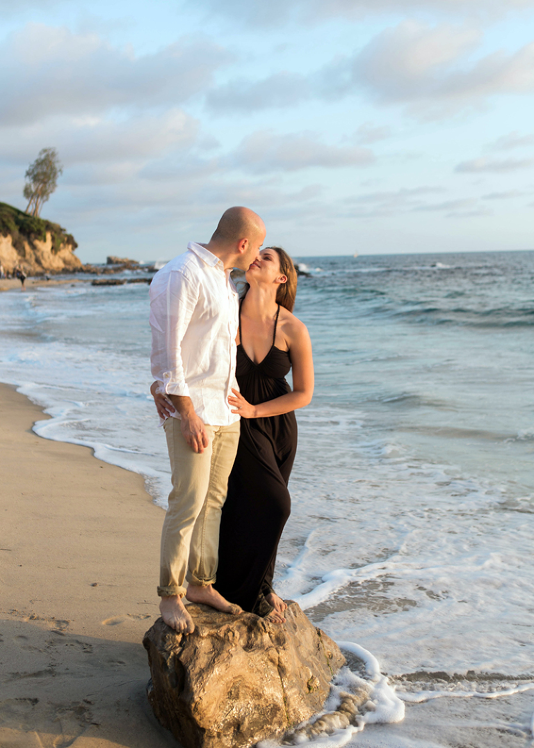 corona del mar beach engagement photography | one eleven photography